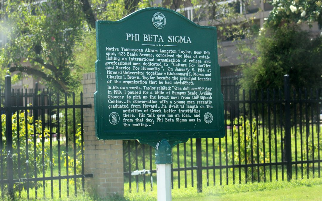 Phi Beta Sigma Historical Marker